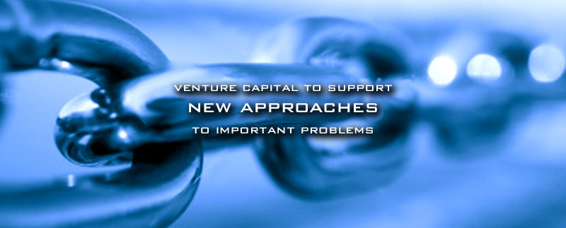 Venture capital to support new approaches to important problems